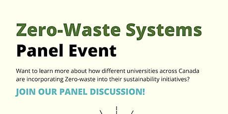 NECES: Zero Waste Systems Panel tickets