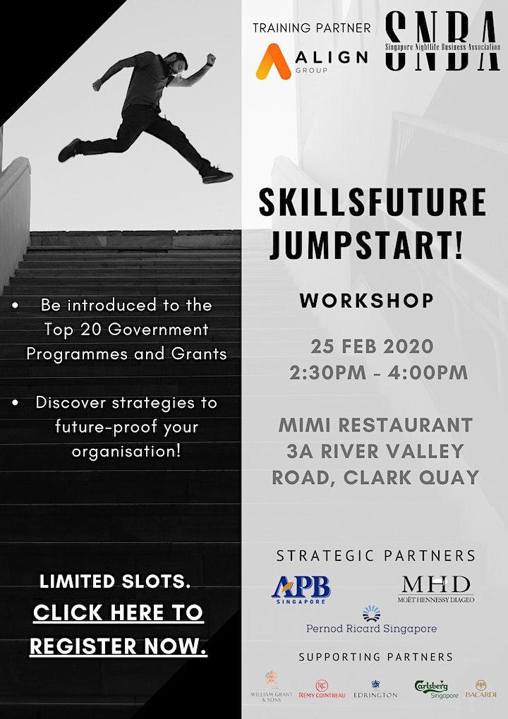 Skillsfuture Jumpstart! Workshop image