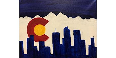 """Mimosa Class: """"Colorado Logo"""" Saturday March 13th, 11:30AM $25 tickets"""