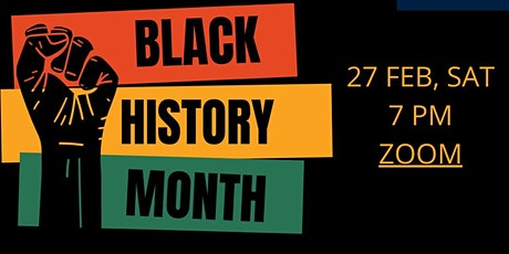 Black History Month tickets