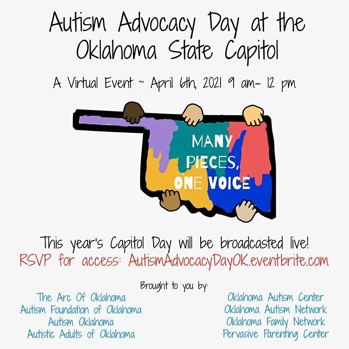 Virtual Autism Advocacy Day at the Oklahoma State Capitol image