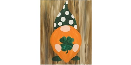 """Mimosa Class: """"Lucky Gnome"""" Sunday March 14th, 12:30PM $25 tickets"""