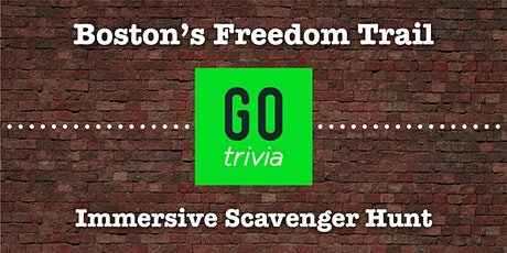 Boston Freedom Trail Scavenger Hunt by Go Trivia[Go. Find. Fun.] tickets