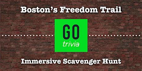Go Trivia - Freedom Trail Scavenger Hunt [Go. Find. Fun.] tickets