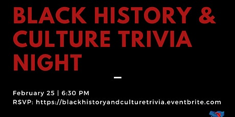 Black History and Culture Trivia Night tickets