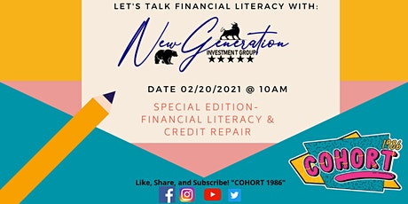 Mentor Series: Financial Literacy and Credit Repair tickets