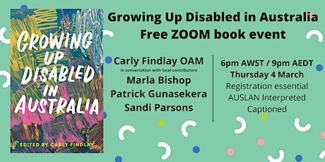 Growing Up Disabled in Australia tickets