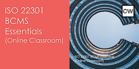 ISO 22301 Business Continuity Management- Essentials (Online Classroom) biglietti