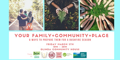 Your Family, Community and Place and how to prepare them tickets