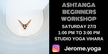 Ashtanga beginners workshop tickets