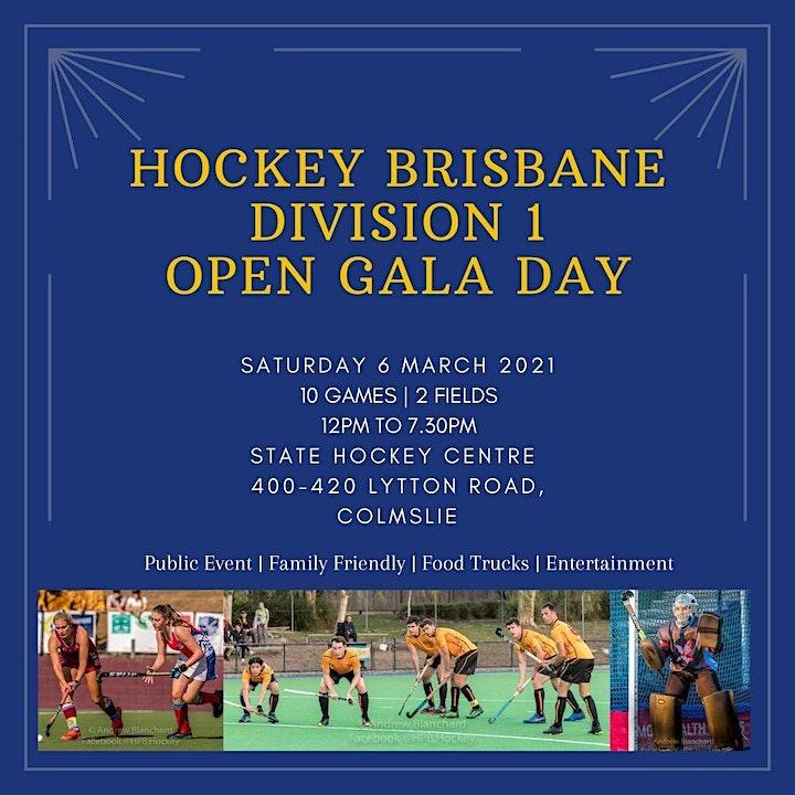 Hockey Brisbane Division 1 Open Gala Day image
