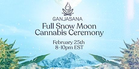 February Snow Moon Ganjasana: Cannabis Yoga Ceremony tickets