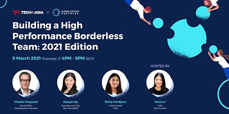 Building a High-Performance Borderless Team: 2021 Edition tickets