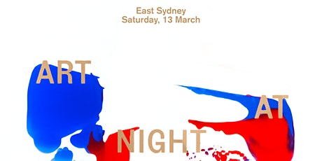 East Sydney Art at Night tickets