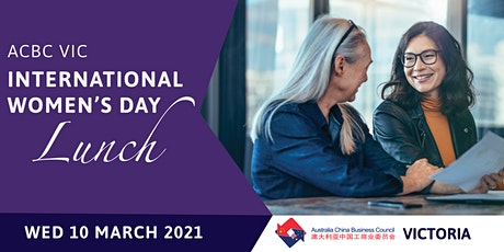 ACBC Vic International Women's Day Lunch tickets