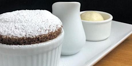 Master Series Dark Chocolate Souffle & No-churn Vanilla Ice Cream tickets