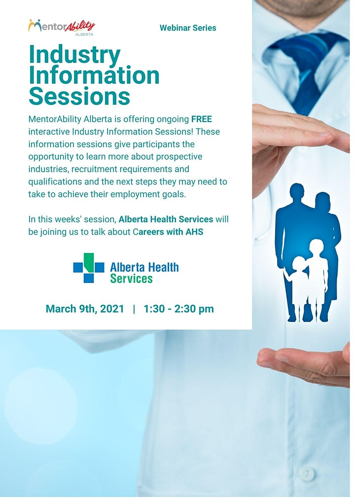 MentorAbility Industry Information Session: Alberta Health Services image