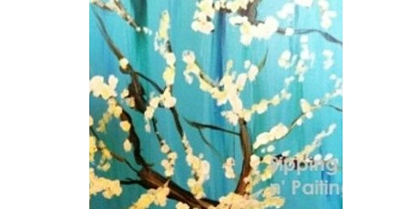 "Mimosa Class: ""Van Gogh Branches"" Sunday March 28th, 12:30PM $25 tickets"