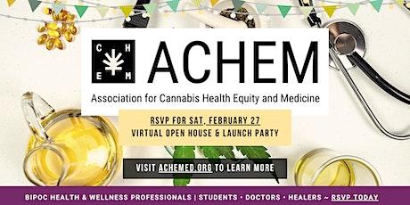 From Sick Care to Health Care   ACHEM Virtual Open House + Launch Party biglietti