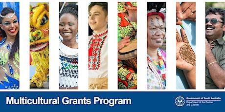 Multicultural Grants Program 2021-22 Information Session tickets