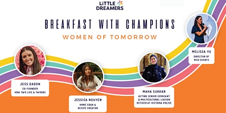 Breakfast With Champions: Women of Tomorrow tickets