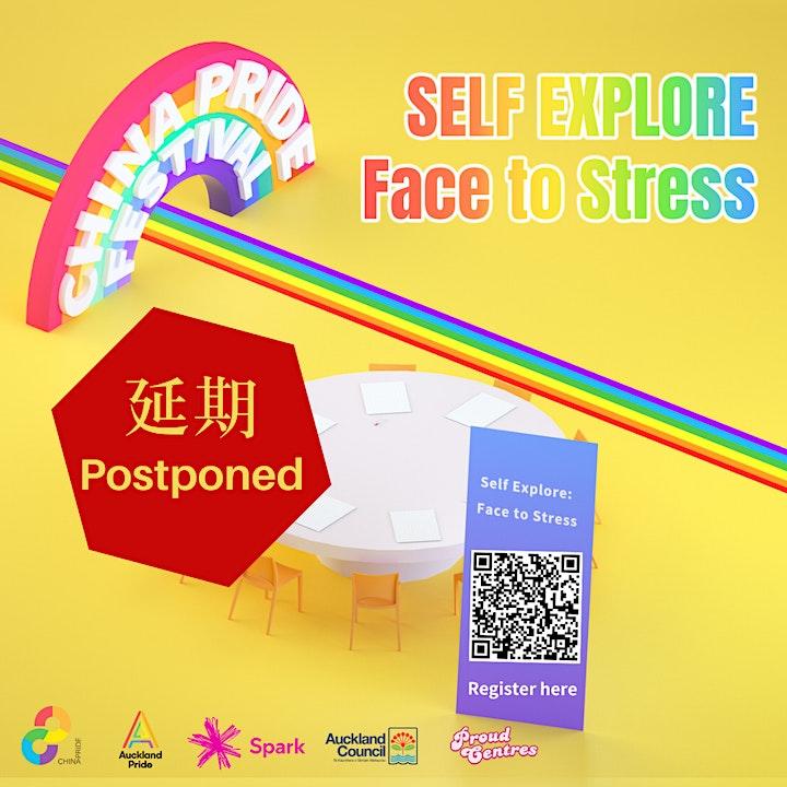 Self Explore: Face to stress -Postponed image