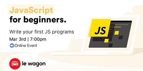 JavaScript for Beginners - Online Workshop tickets