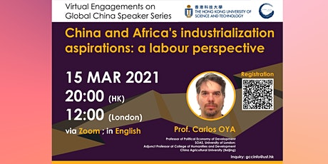 China and Africa's industrialization aspirations: a labour perspective tickets