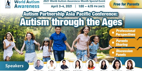 AP Autism Awareness Charity Webinar 2021: Autism through the Ages tickets