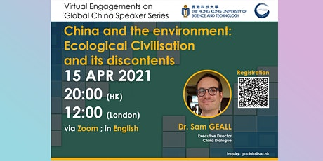China and the environment: Ecological Civilisation and its discontents biglietti