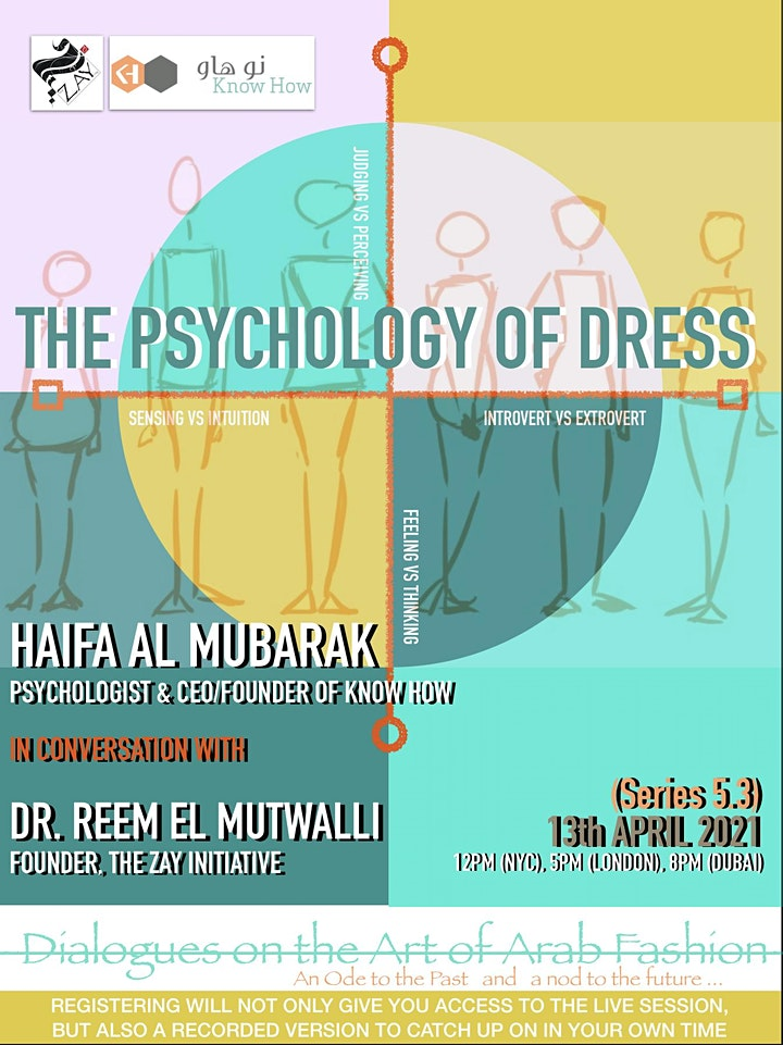 5.3 DIALOGUES ON THE ART OF ARAB FASHION: THE PSYCHOLOGY OF DRESS image