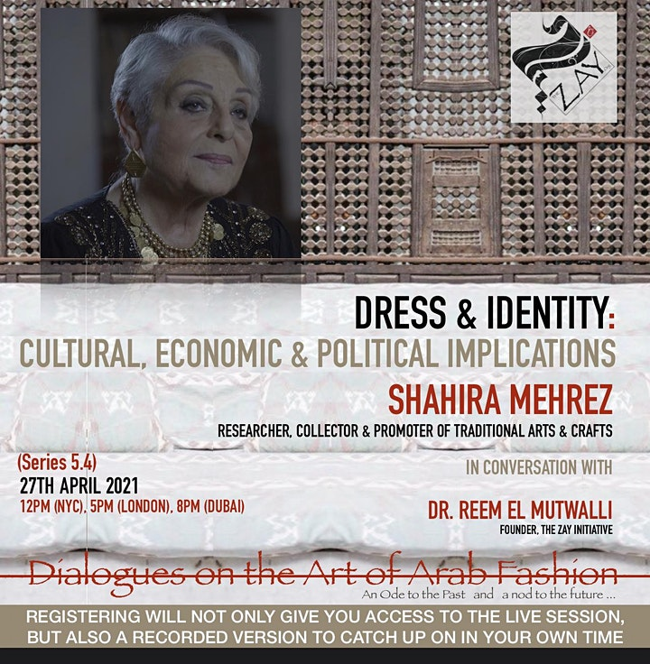 5.4  DIALOGUES ON THE ART OF ARAB FASHION: DRESS & IDENTITY image