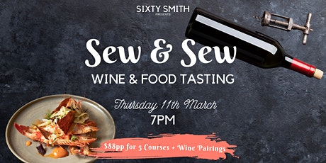 Sew & Sew Wine & Food Tasting tickets