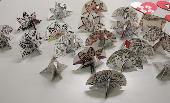 Zentangle Art (Gift-Making Workshop) March 26 image