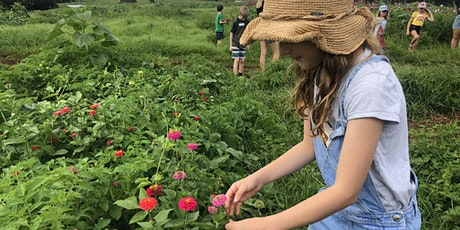 FARM KIDS SCHOOL HOLIDAYS - Flowers Workshop tickets