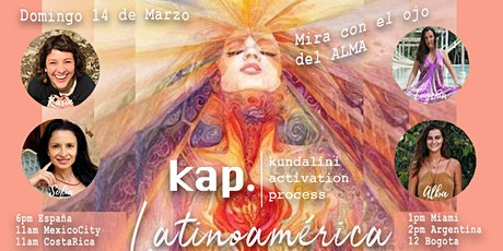 KAP LATINOAMERICA Virtual Open Class - 14 de Marzo 2021 - Shakti Power entradas