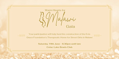 Warm Hearts For Malawi Benefit Gala! tickets