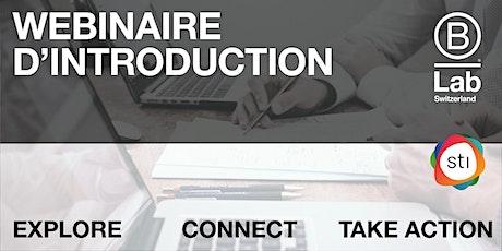STI -  Webinaire d'introduction (Français) billets