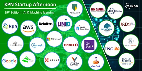 19th KPN Startup Afternoon | AI & Machine Learning edition biglietti