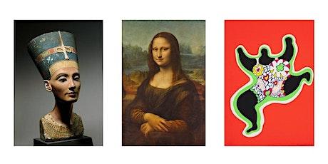 Visite d'exposition virtuelle - Les femmes à travers l'Art et les époques billets
