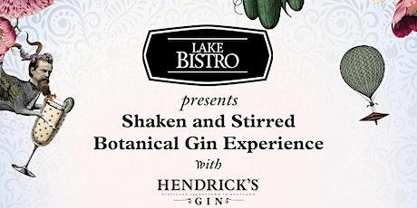 Shaken & Stirred Taupo - Botanical Gin Experience tickets