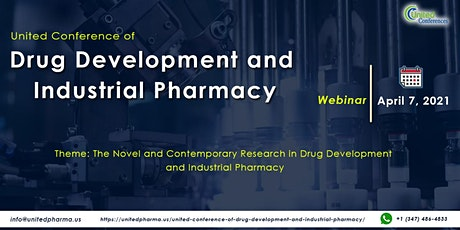 United Conference of Drug Development and Industrial Pharmacy tickets