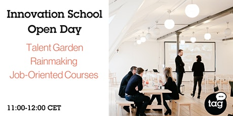 Innovation School Open Day - Talent Garden Rainmaking Job-Oriented Courses tickets