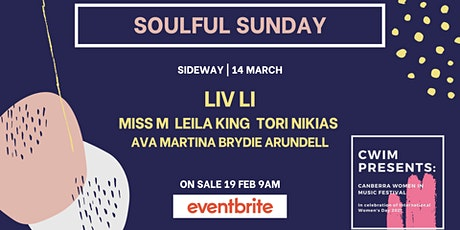 Soulful Sunday pres. by She's on the Bill tickets
