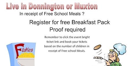 Donnington & Muxton Breakfast Club FSM tickets