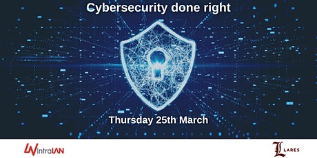 Cybersecurity Done Right tickets