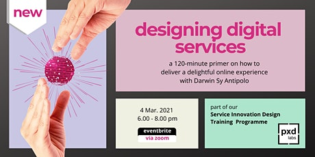 { Primer: Designing Digital Services } entradas