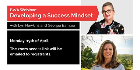 BWA Webinar: Developing a Success Mindset tickets