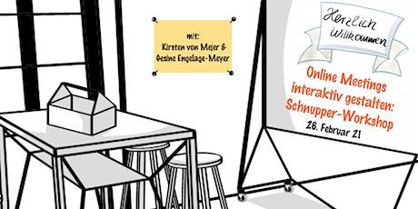 Online-Moderation für Führungskräfte - Interaktiver Schnupper Workshop Tickets