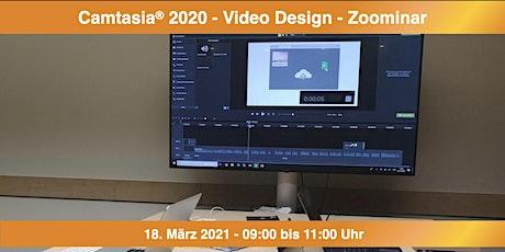 Camtasia 2020 - Video Design - Zoominar Tickets